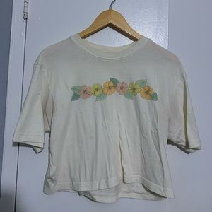 Floral American Eagle T-Shirt
